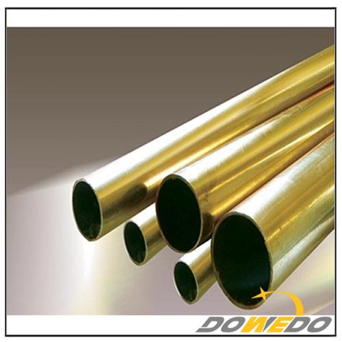 CuZn20 CZ103 C24000 Round Shape H80 Brass Tubing