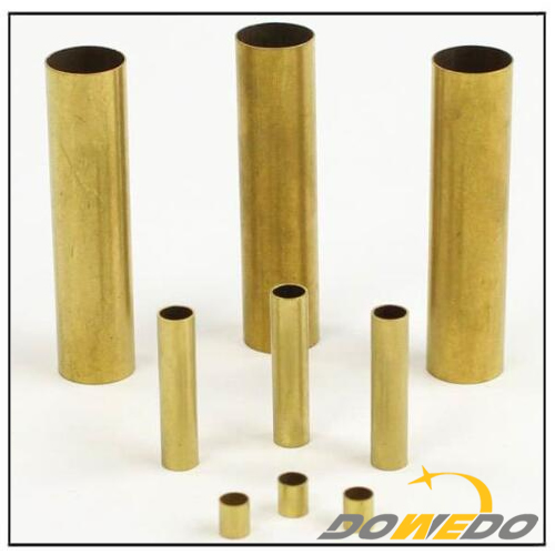 H70 Brass Tubes Customized Size Diameter Pipe