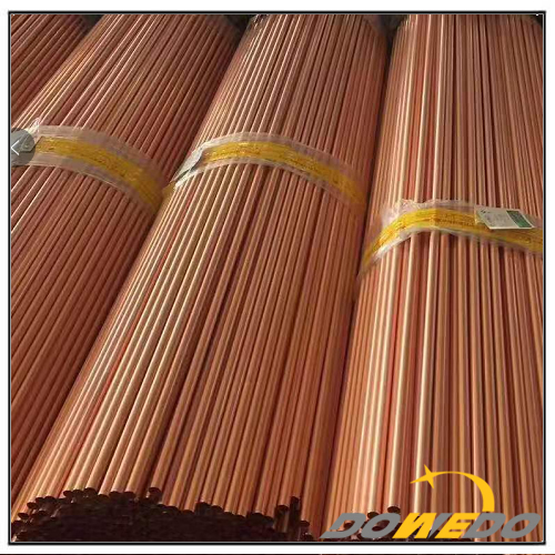 Copper Capillary Tubing Pipes Wall Thickness 0.6mm 0.7mm 1mm