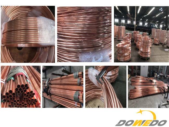 China Factory Copper Tube Coil for Air Conditioners