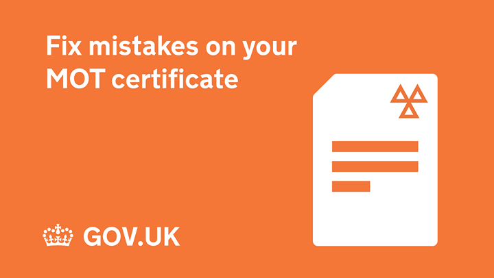 Wrong mileage on your MOT certificate? Get it fixed by following this advice 👇https://www.gov.uk/getting-an-mot/correcting-mot-certificate-mistakes