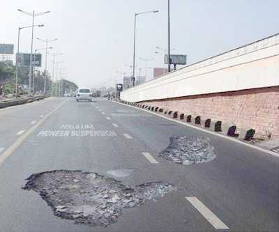 Potholes to reduce speeding? 2