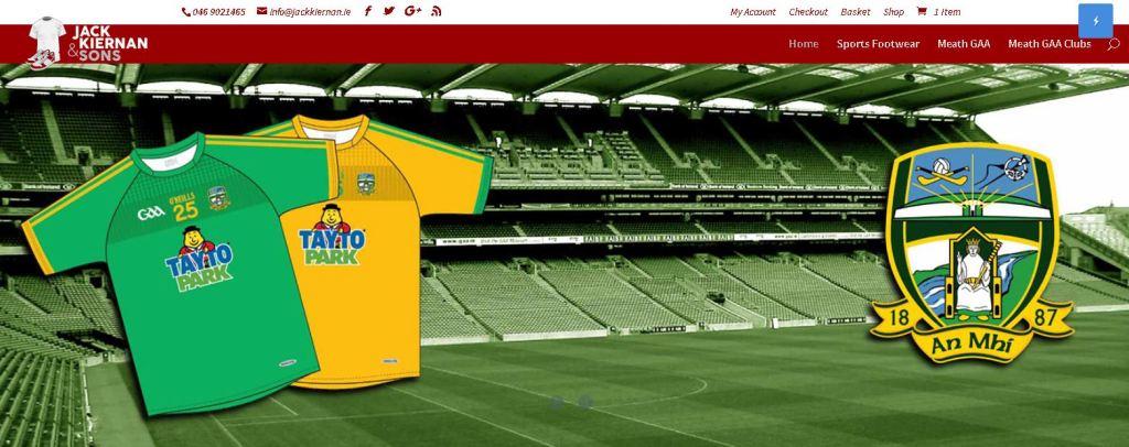 Jack Kiernan and Sons E-Commerce Website dweb