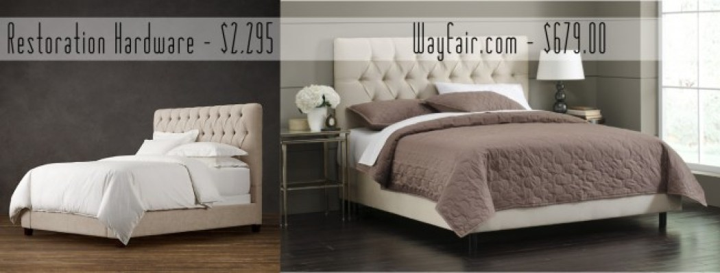 get the look for less restoration hardware bedroom 13065 | beds resize 1050 2c398