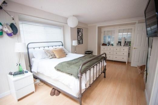 house tour cottage master bedroom