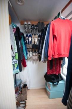 house tour cottage master closet