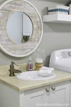 mesmerizing nautical bathroom makeover | Nautical Home Decor - Dwell Beautiful
