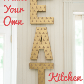 eat kitchen sign