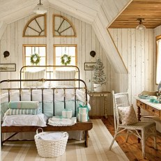 Farmhouse Decorating Ideas  How to Get the Look   Dwell Beautiful Farmhouse bedrooms are totally sweet  soothing  and have old world charm  I  love the homey and cozy vibe this style bedroom gives off . Farmhouse Bedrooms. Home Design Ideas