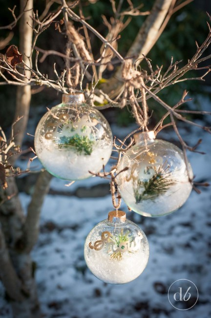 let it snow ornaments