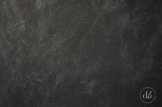 chalkboard entryway