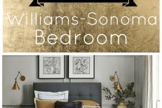 williams-sonoma bedroom