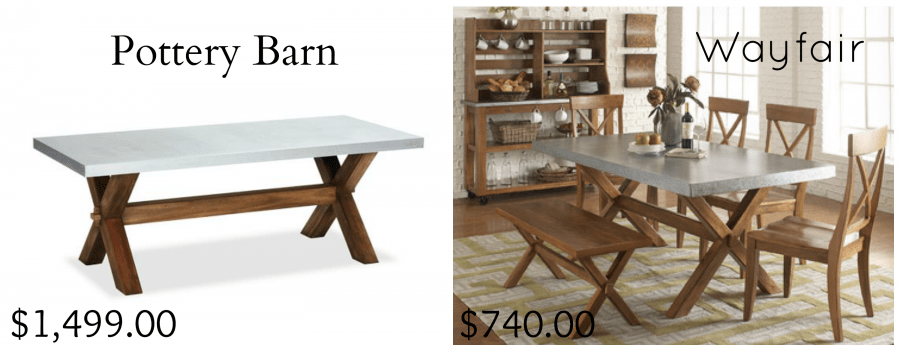 Pottery Barn. Considering The PB Table Is One Of My Favorite Pieces Of This  Whole Setup, I Knew I Had To Find An Excellent Replica.