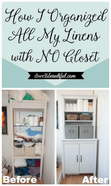 How To Organize Linen Closet Storage