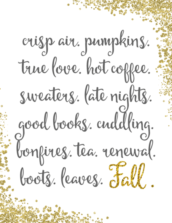 Free Fall Printable | Dwell Beautiful