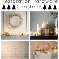 Get the Look for Less: Restoration Hardware Holiday Edition!