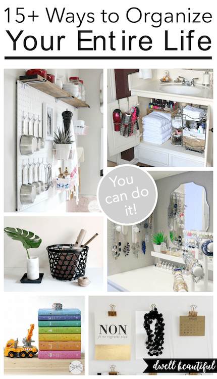15+ Ways to Organize Your Entire Life for 2016