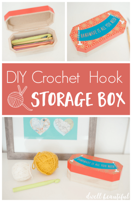 crochet hook storage box