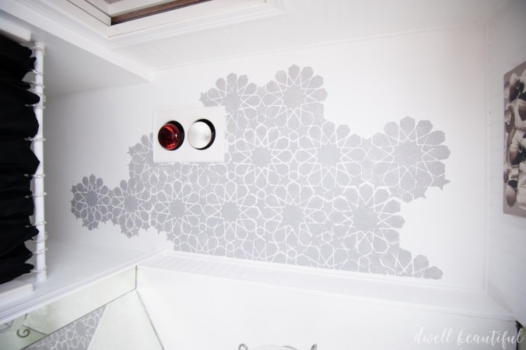 royal design studio how to stencil a ceiling