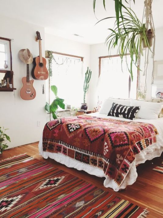 Bohemian Bedroom Inspiration modern bohemian bedroom inspiration - dwell beautiful