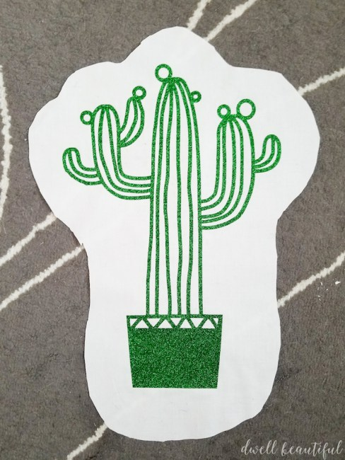 How to Make an Adorable DIY Cactus Pillow