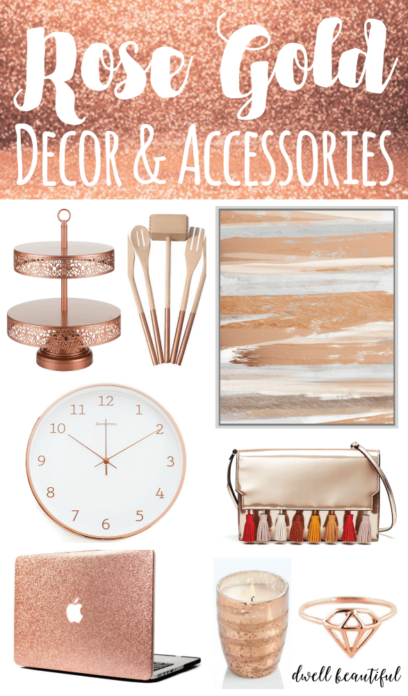 Design Trend: Stylish Rose Gold Home Decor And Accessories