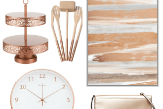 Stylish Rose Gold Home Decor and Accessories