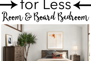Get the Look for Less: Room and Board Bedroom - Dwell Beautiful