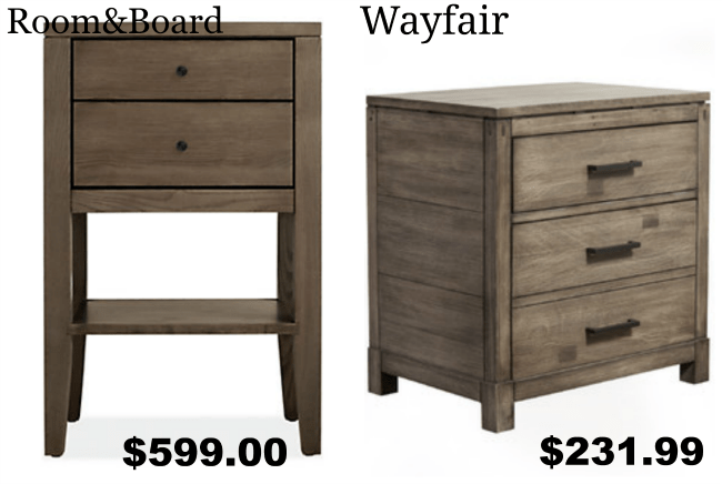 Get the Look for Less: Room & Board Bedroom