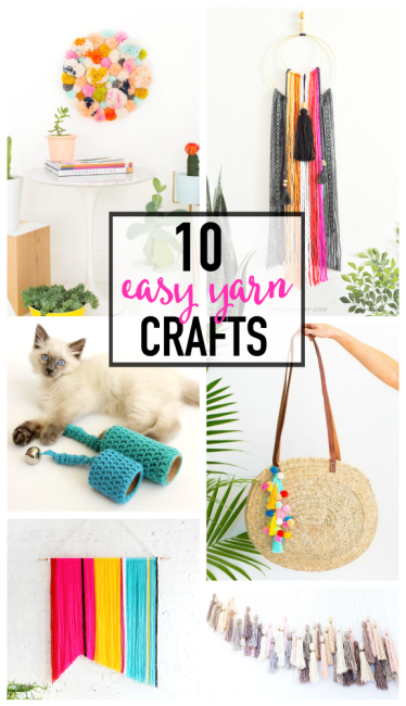 10 Easy Yarn Crafts