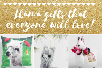 Golden Llama Treasure Hunt and Gift Guide