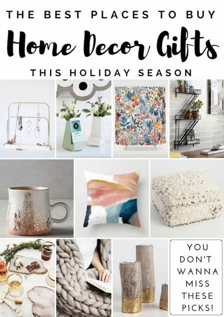 Home decor gift guide best places to shop for home decor for Best place to get home decor