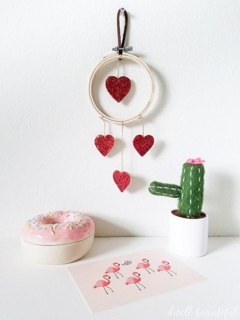 Valentine's Day Mini Heart Wreath