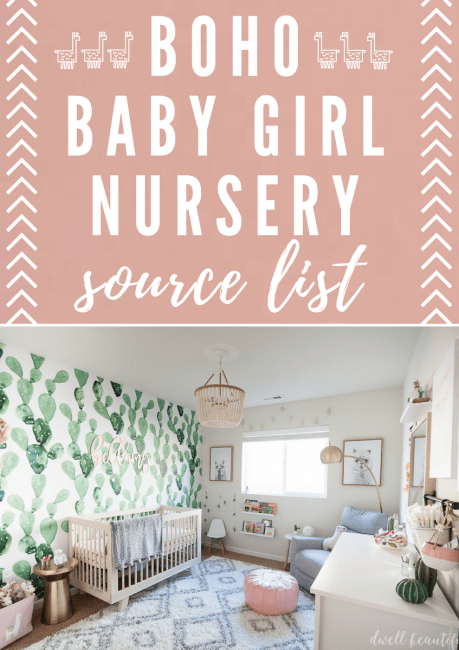 Boho Baby Girl Nursery Source List