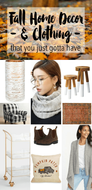 fall home decor that you just gotta have