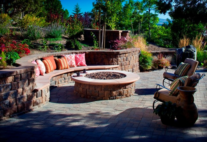 Best Outdoor Kitchen With Fireplace