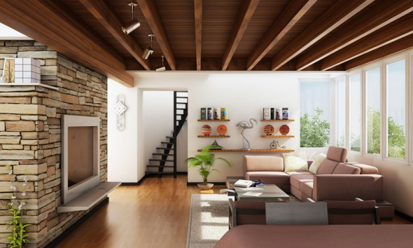 Contemporary-Traditional-Textured-Living-Room