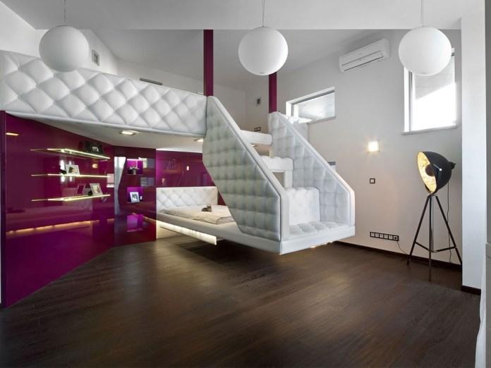 Modern Loft Master Bedroom