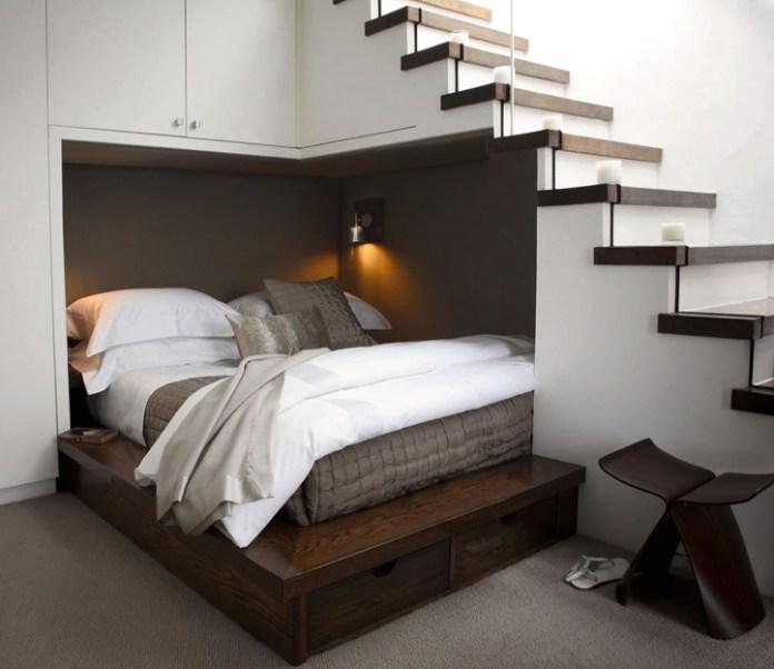 1-Understair-double-bed
