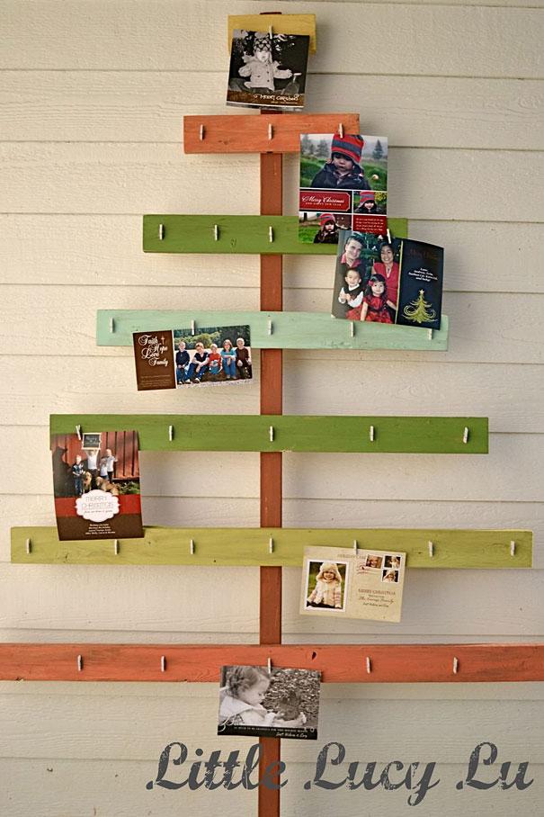Cardholder Christmas Tree