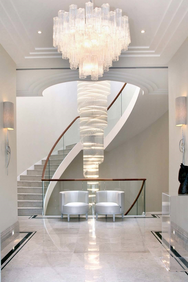 Glamorous large chandeliers