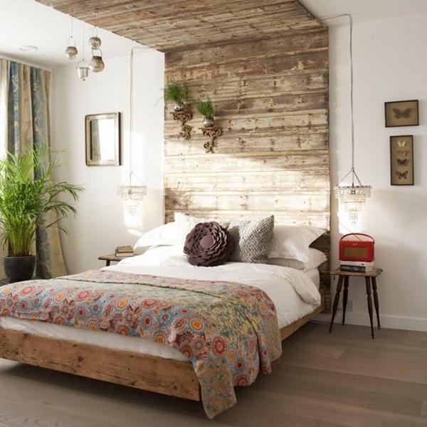 bedroom-decorating-ideas-wooden-pallet-headboard