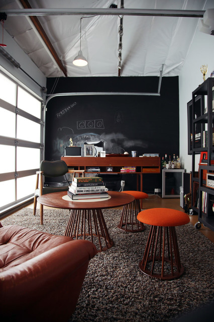 home-office-round-coffee-table-brown-leather-industrial-home-office
