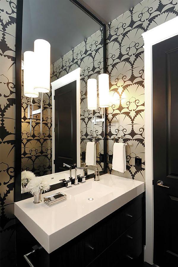 Bold Art Deco Bathroom