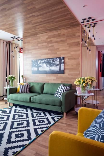 Bright Modern Living Room Design