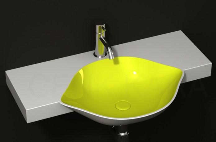 Cool Fruit Inspired Bathroom Idea Sinks Lemon