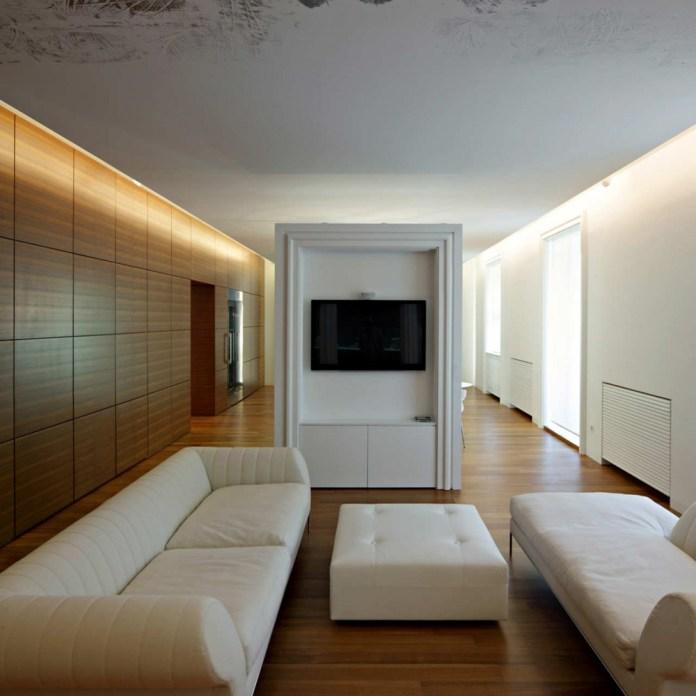 Modern Apartment Living Room Design