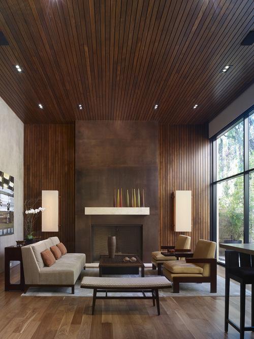 Modern Open Concept Living Room