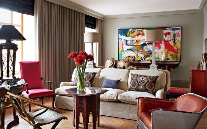 Apartment with quirky interior design