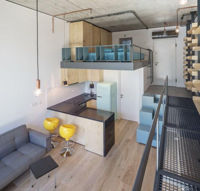 Contemporary Studio Apartment